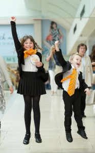 intu-Metrocentre's-new-Heads-of-Fun-Esther-Bennett-and-Logan-Jackson-Luke-jumping-for-joy-at-the-announcement-of-their-appointment (002)