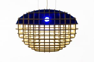 Emerging Brands - Monica Correia Design_Lampyris Lamp_Blue