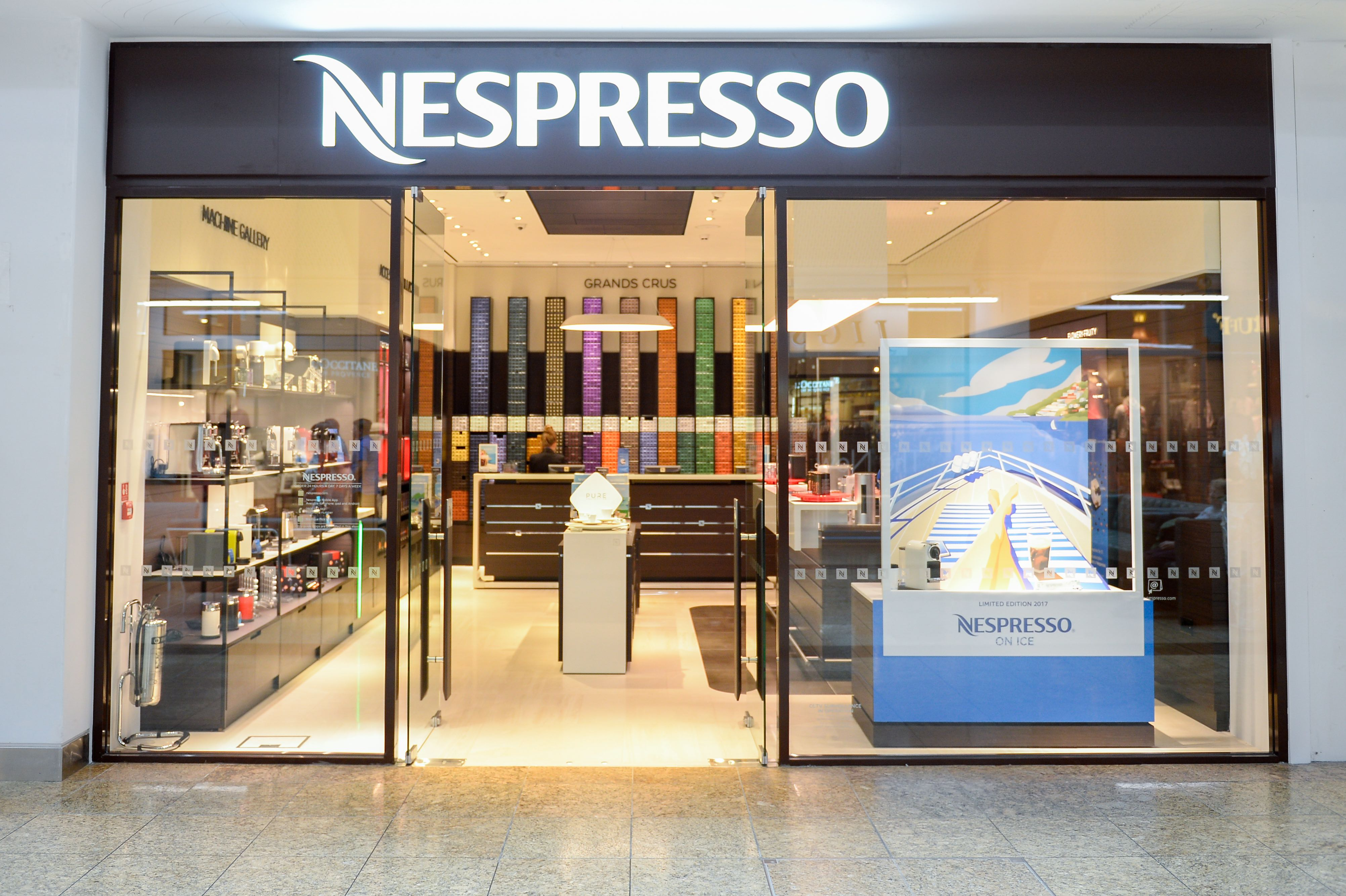 PRESS - Meadowhall - Nespresso front 2