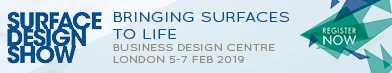 Surface Design Show 2019 banner